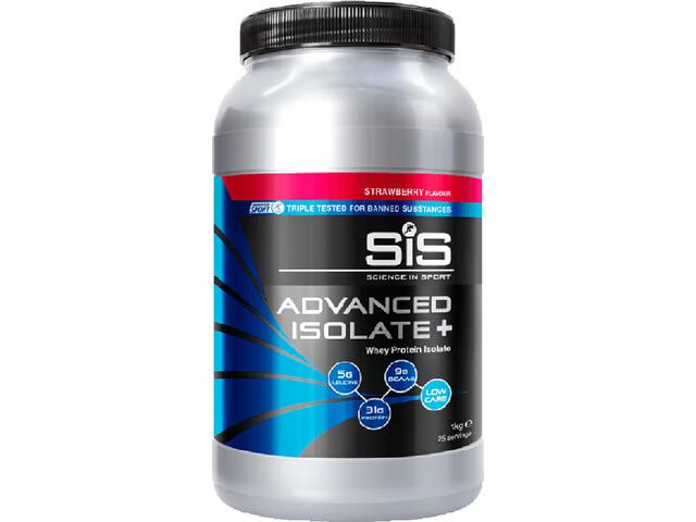 SiS Advanced Isolate Plus Whey Protein 1kg Strawberry